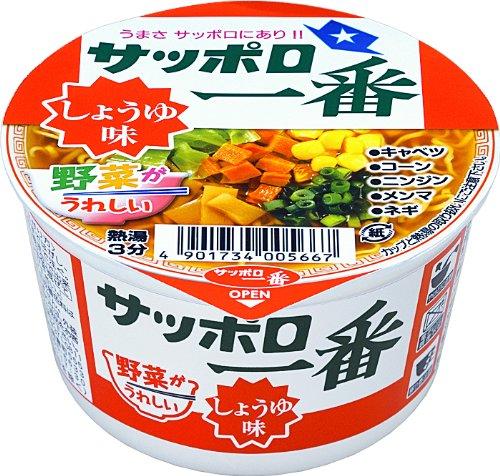 삿포르 제일 간장 맛 미니 덮밥(돈부리) 44g×12개
