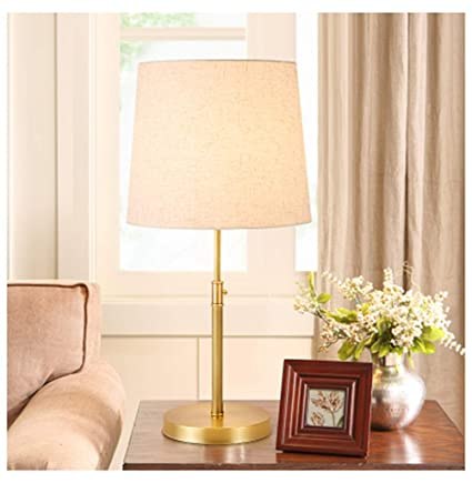Amazon.com: PPWAN Simple Household Table Lamp Bedroom Bedside Desk ...