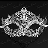 Labu Store Luxury Elegant Metal Laser Cut Masks Venetian Halloween Ball Masquerade Mask halloween costumes for women