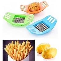 Favolook French Fry Potato chip Cut cutter lama tritatutto affetta frutta e verdura,