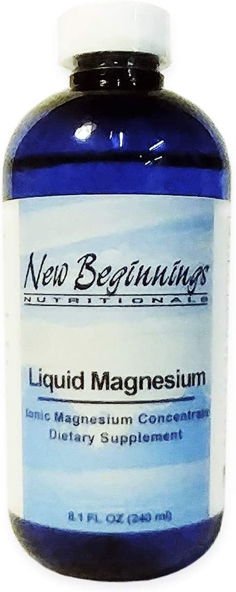 Liquid Ionic Magnesium 8oz | Water-Soluble Magnesium | Easily Absorbed into The Cells with no Digestion Required | Ultra Concentrate Ionic Formula