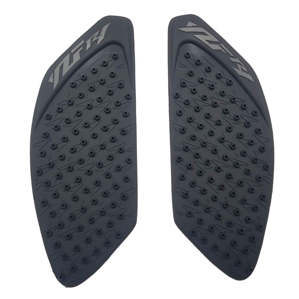 Black Rubber 3D Dots Gas Fuel Tank Traction Pad Anti Side Slip Protector for Yamaha YZF R1 2009-2014 PM-20006 5559093430
