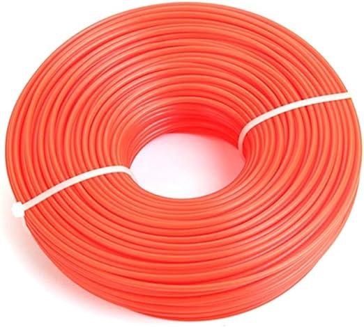 PowerBH La cuerda de alambre de nylon para jardín de Zigzag Mower Hit es muy adecuada para jardín o uso agrícola.: Amazon.es: Hogar