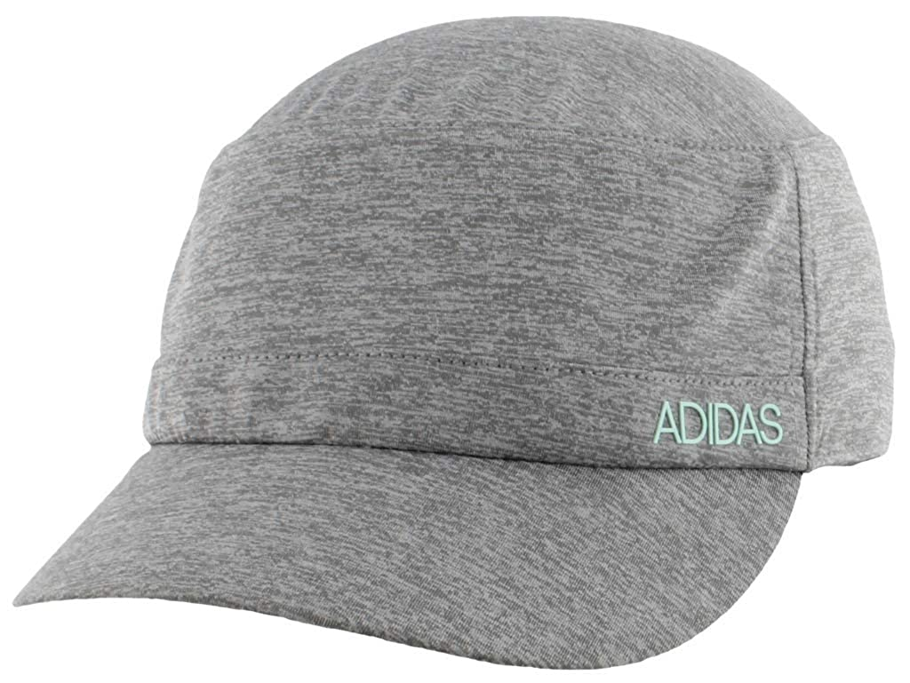 52af44b4 Amazon.com: adidas Women's Sport2Street Adjustable Military Cap, Grey -  Clear Onix Heather/Clear Mint, One Size: Clothing