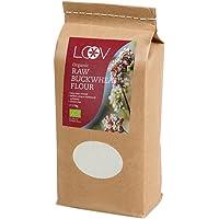 Harina de trigo sarraceno Cru orgánico sin gluten (1 kg) por Loov