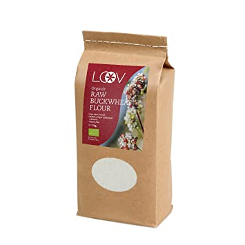 Harina de trigo sarraceno Cru orgánico sin gluten (1 kg) por Loov: Amazon.es: Hogar