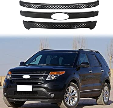 For Ford Explorer 2011-2015 Stainless steel Front Bumper Protector Cover Trim