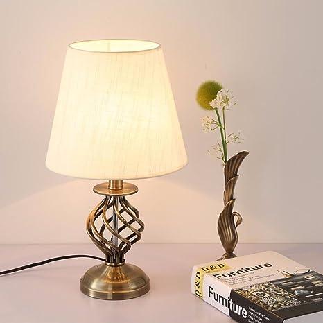 YU-K Lámpara de mesa simple y elegante creativo idílico ...