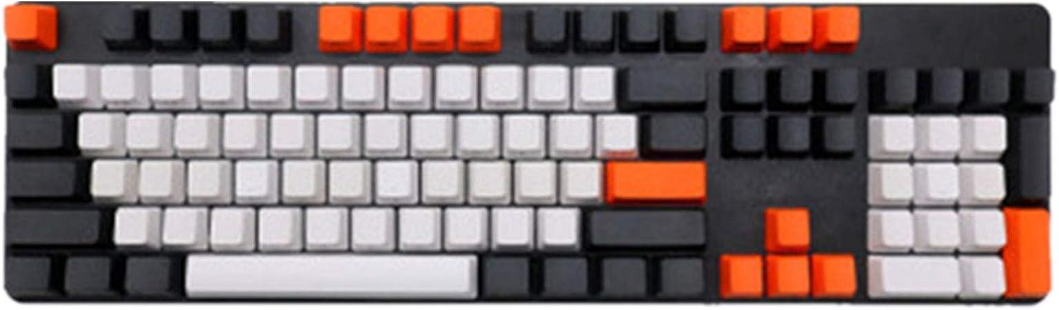 Sunzit Keycaps, 108 Tecla Teclado de Cubierta de Carbono PBT ...