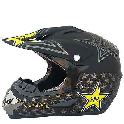 Amazon.es: Adulto Motocross Casco Abs Material Anti Crash Downhill ...