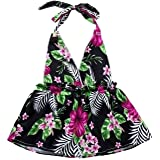 3e9f708ac0 Kehen Infant Baby Toddler Girl Summer Party Dress Hawaii Beach Dresses  Tropical Pattern Strap Backeless Swing