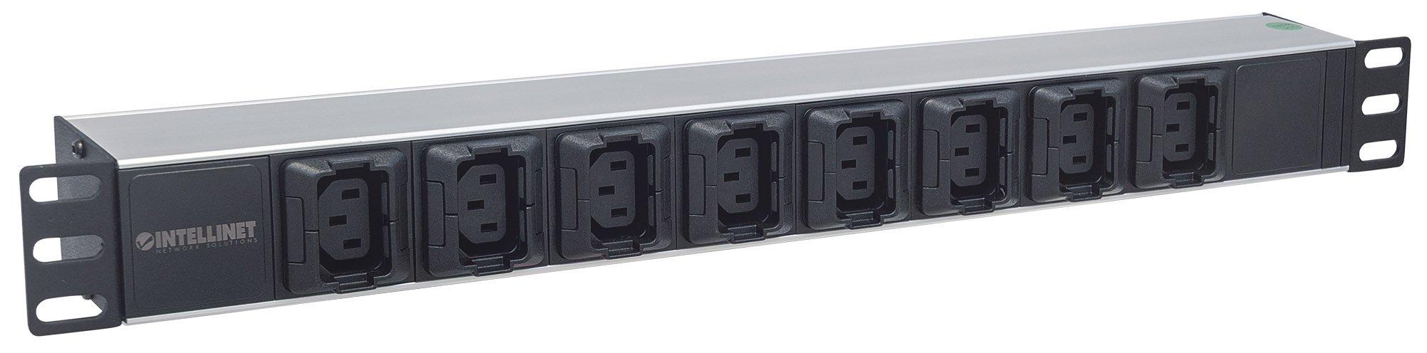 Intellinet 19'' 1U Rackmount Anti-Shedding 8-Output C13 Power Distribution Unit (PDU) by Intellinet (Image #2)