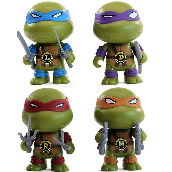 AIYL -15cm Tortugas Ninja Animado Juguetes Rafael TMNT A ...
