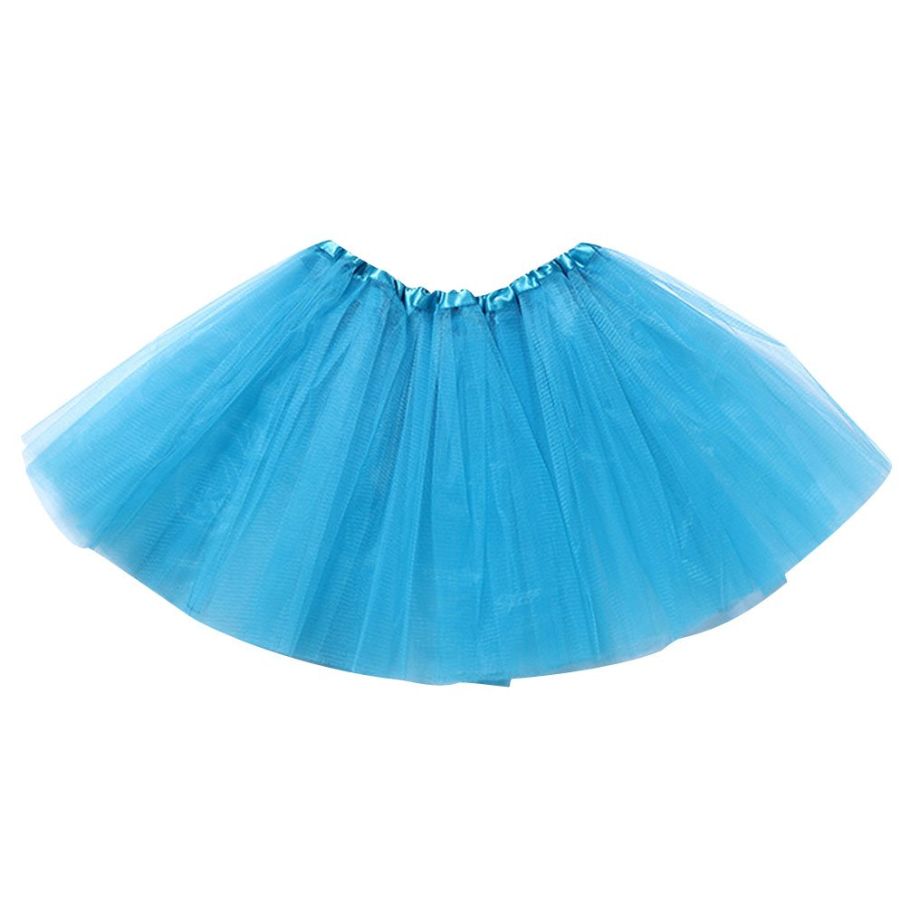 758f0704d1 Faldas de Tul Falda Tutu Niña Falda Tul Capas Niñas Disfraces Con Tutus  Disfraz Tutú Pettiskirt Volantes Tulle Ballet Pollera ...