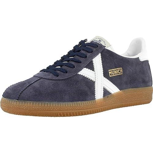 f8a27351e4b Munich - Sneakers Barru  Amazon.es  Zapatos y complementos