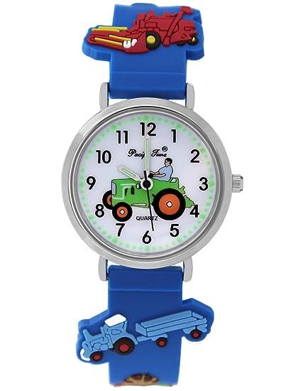 Pacific Time 86833 - Reloj de Pulsera analógico para niño ...