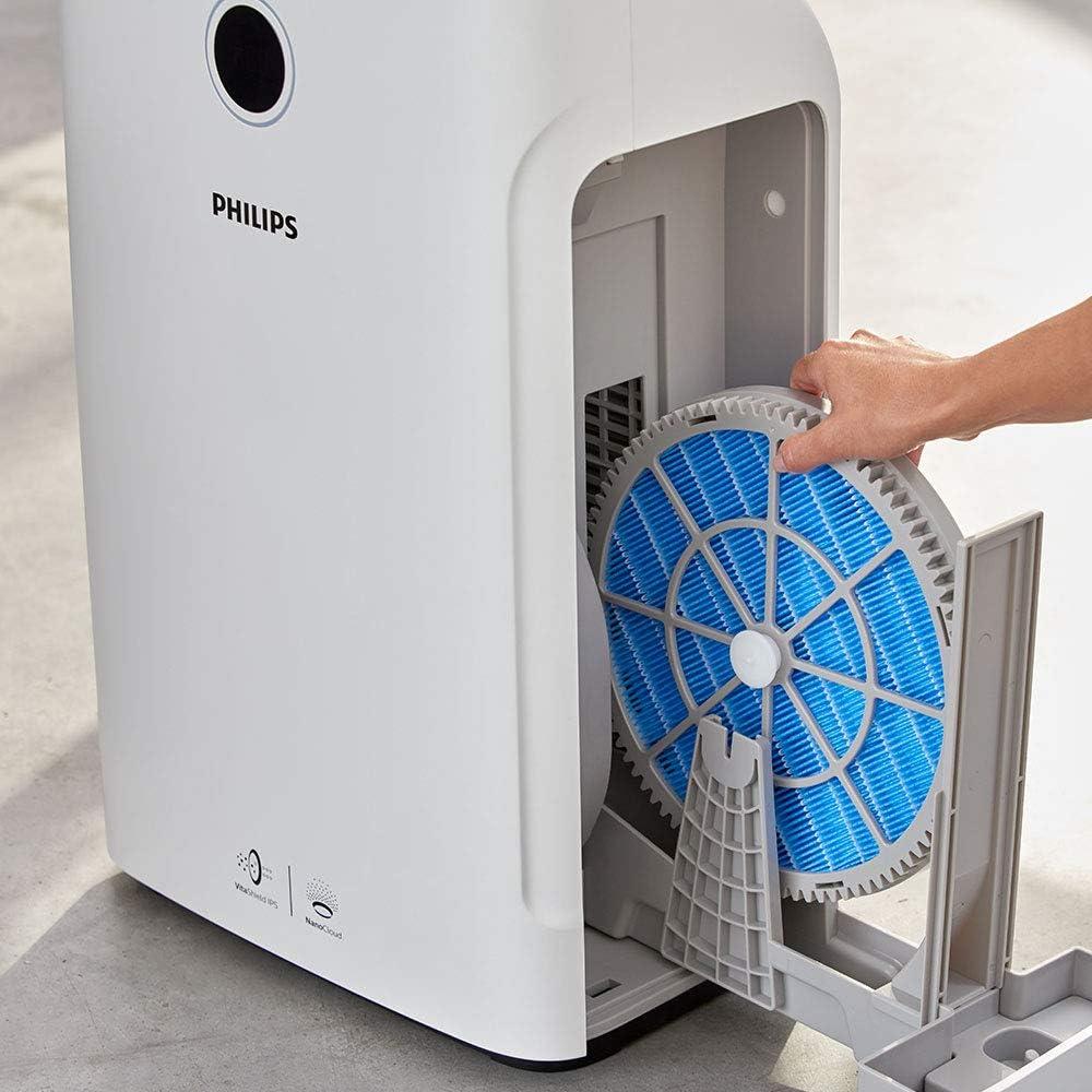 Philips AC3829/60 - Purificador de aire (310 m³/h, 80 m², 9 h, 600 ...