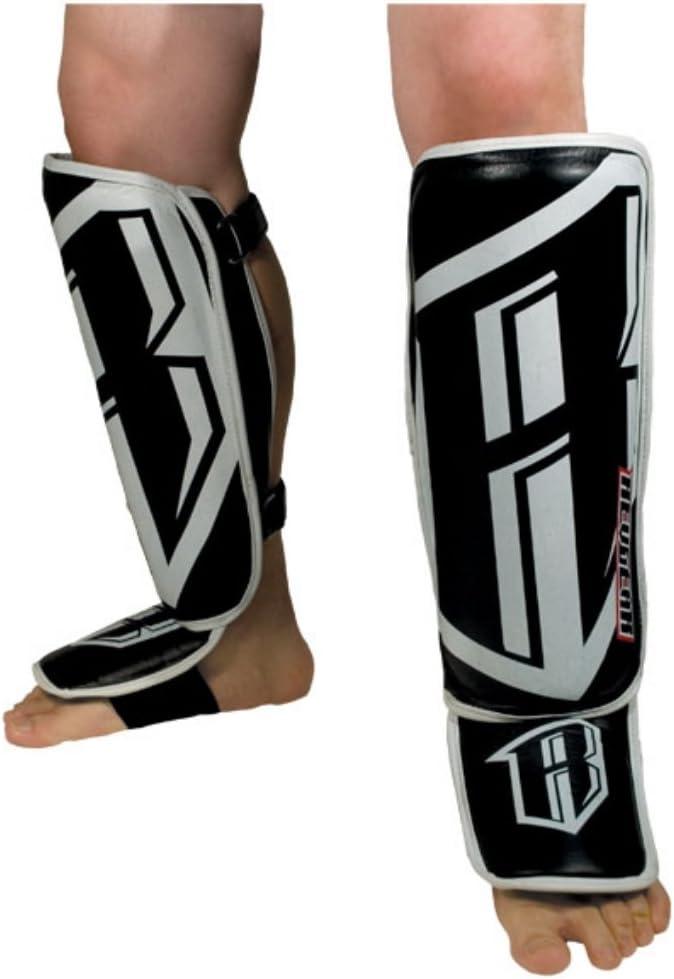 Amazon Com Revgear Professional Leather Shin Guard Boxing And Martial Arts Shin Guards Sports Outdoors