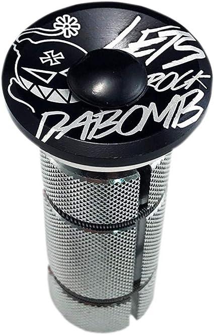 DA BOMB COMPRESSION PLUG bike Aluminum Headset Top Cap key Expander 1-1//8