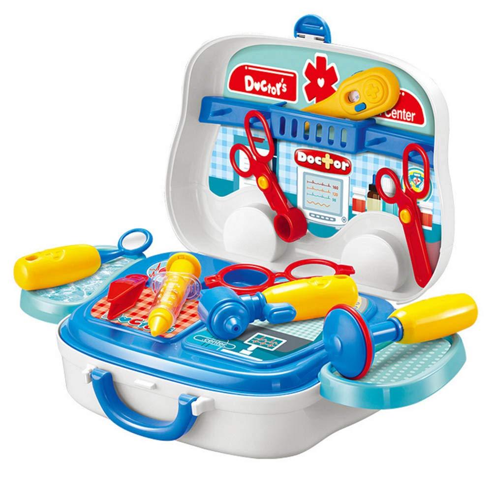 JYCRA Doktor-Spielzeug-Set, für Kinder, Ärzte, Krankenschwester, Rollenspiel-Spielzeug mit medizinischer Tragetasche für Kinder Jungen Mädchen ab 3 Jahren