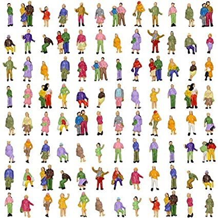 Amazon.com: p150 W-100 muñeca persona personas humano figura ...