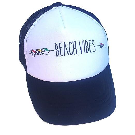 4fc721f740d Amazon.com  Sol Baby Beach Vibes Infant Kids Black Trucker Hat ...