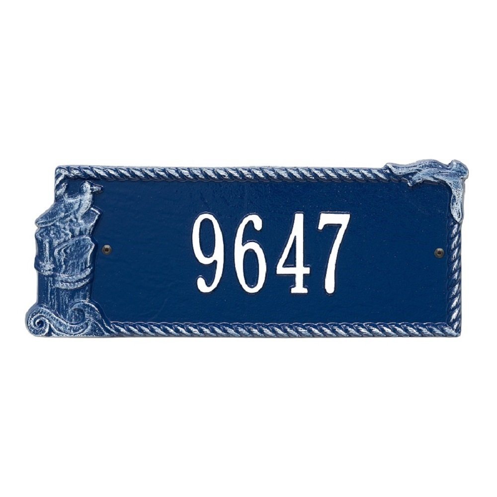 Seagull Address Plaque 16.5''W x 7''H (1 Line)