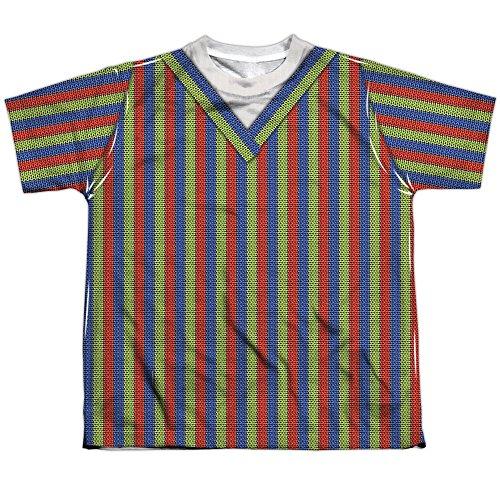 A&E Designs Kids Bert Costume Sublimation Shirt (Front & Back), Medium ()