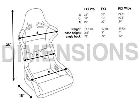 Amazon Com Fx1 Gaming Chair Seat Seat Width For Up To 36 Waist