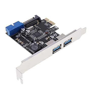 perfk Tarjeta PCIE USB 3.0, 4 Puertos PCI Express A La ...