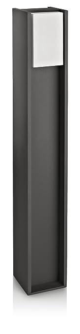 12 opinioni per Philips Bridge Palo da Esterno, Altezza 80 cm, Alluminio Antracite e Sintetico,