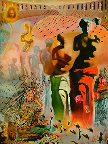 Salvador Dali - The Hallucinogenic Toreador, Size 24x32 inch, Poster Art Print Wall décor