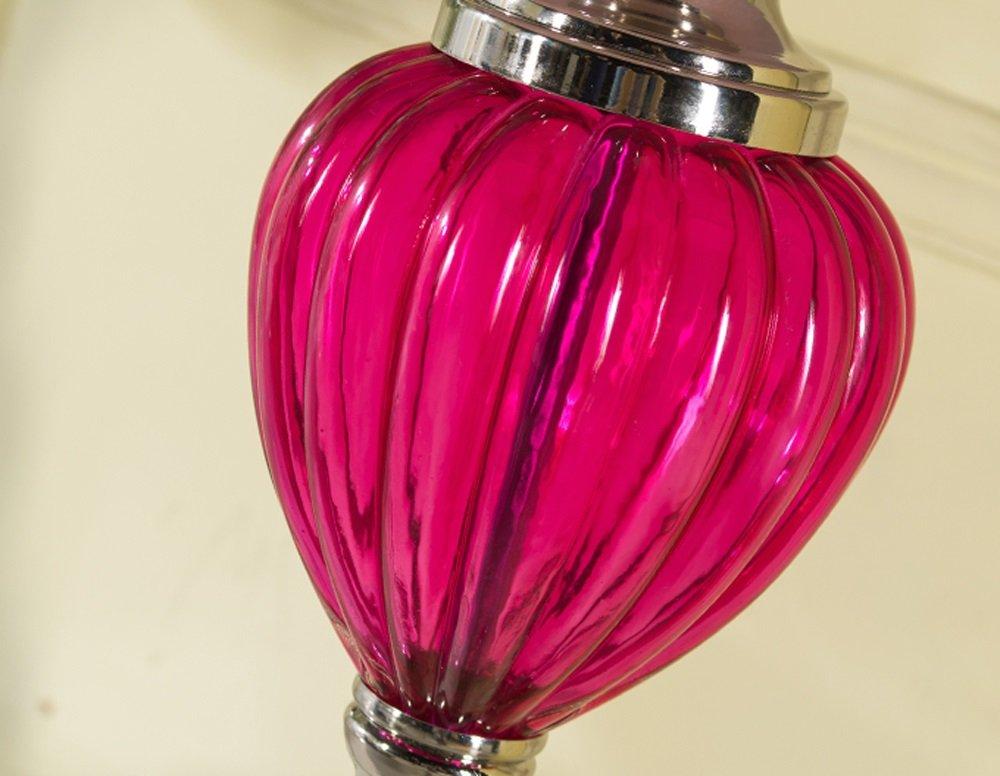 GZEALL Amerikanische Tischlampe Schlafzimmer Nachttischlampe Retro Moderne Wohnzimmer Hochzeit Tischlampe Tischlampe Tischlampe Druckschalter B07H5JBGMY   Sale Online Shop  1db60e