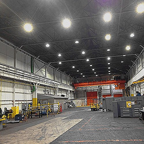 Warehouse Led Lighting Amazon Com: 150W LED UFO High Bay Light Replace 400 To 500 Watt HPS Or