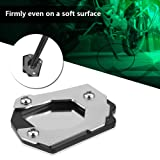 Acouto Motorcycle Modification Side Stand Kick Foot Stand for BMW F800GS Adventure 2013-2017