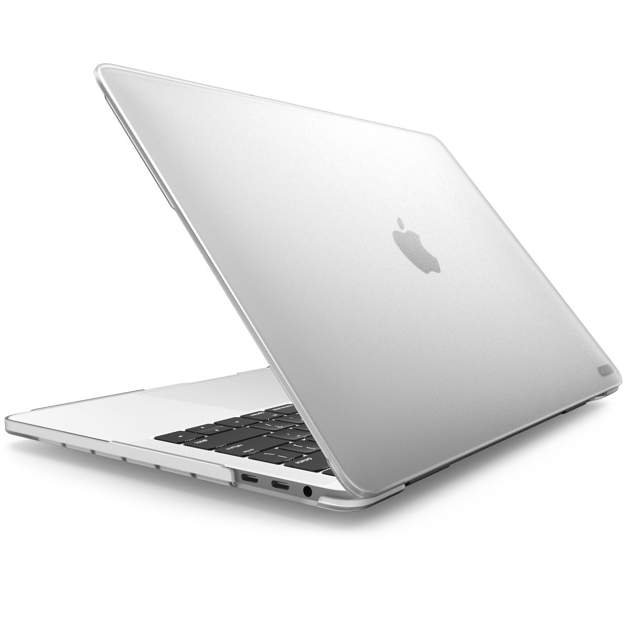 MacBook Pro 15 Case 2018 2017 2016 Release A1990/A1707, i-Blason [Heavy Duty] Slim Rubberized [Dual Layer] Cover with TPU Bumper for Apple Macbook Pro 15 inch with Touch Bar and Touch ID (Frost Clear)