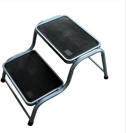 Taburete para caravana de doble escalón, de goma de acero, antideslizante, ligero, para caravana: Amazon.es: Bricolaje y herramientas