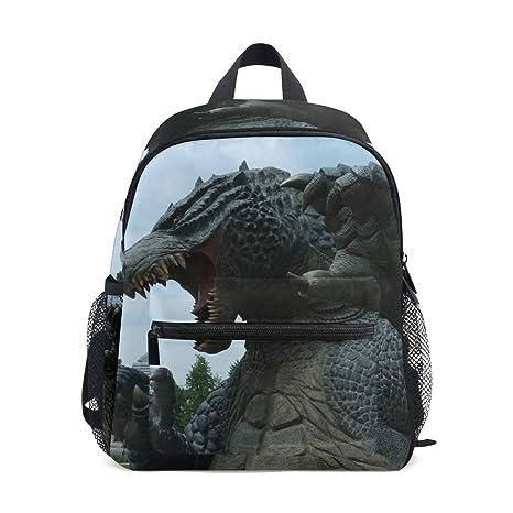 miglior servizio 963eb 2395b Godzilla, zaino con dinosauro per ragazze, scuola materna, bambini ...
