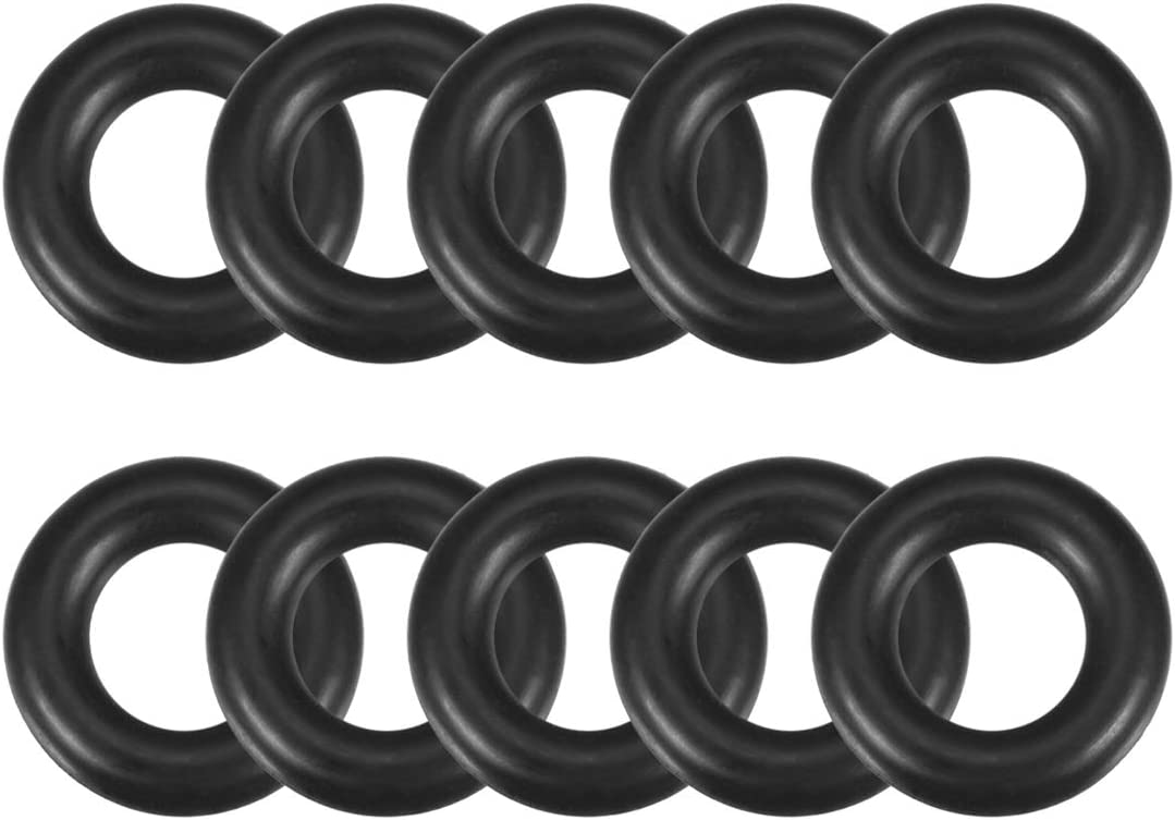 10Pcs OD 16mm  ID 8mm Section 4mm Rubber O-Ring gaskets