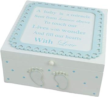 Global Designs F1718B - Caja de recuerdos (tamaño grande, madera ...