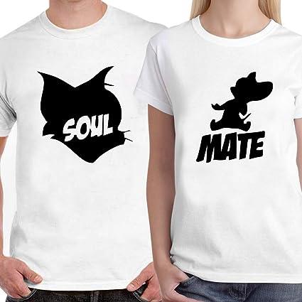 d794649e3cd ... Buy Powerpuff Soul Tom Mate Jerry Unisex Couple T Shirts Online at