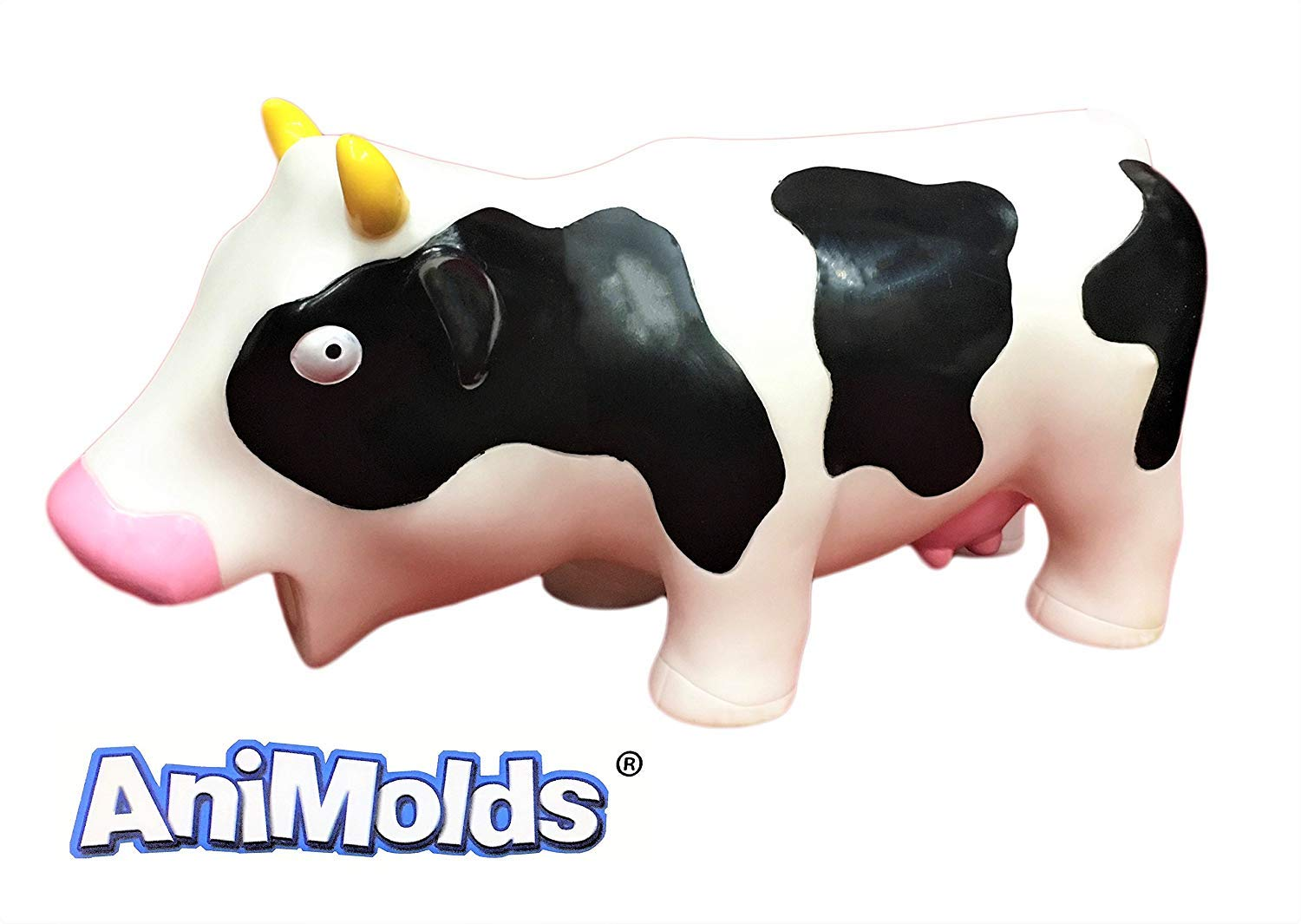 Animolds Squeeze Me and Hear Me Moo Squishy Cow Sensory Toys Party Supplies Pack (6 Pack) by Animolds (Image #2)
