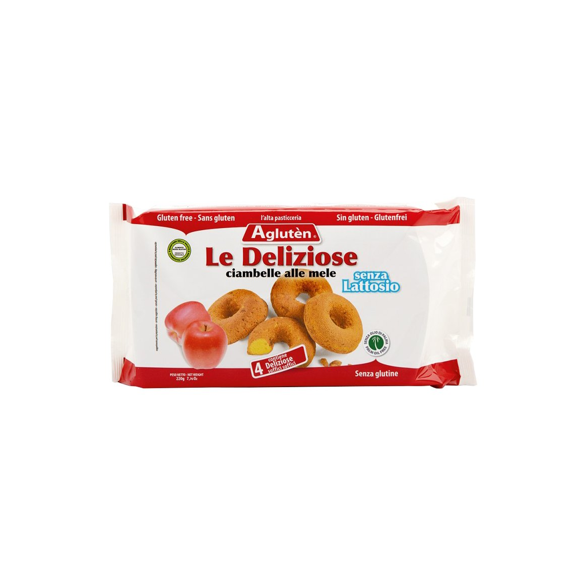 Agluten Le Deliziose Ciamb 220G: Amazon.es: Alimentación y ...
