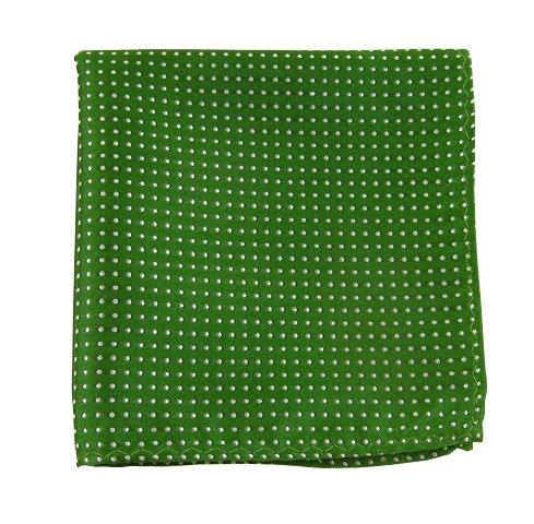 100% Silk Woven Green - 4