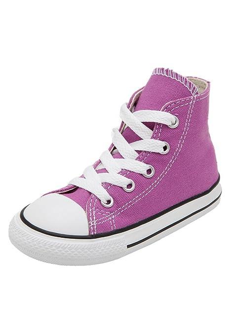 e8a1b9a95b972 Converse Scarpe Sneaker Bambina Ct As Hi Iris 730116C-MAGENTA - Taglia 20
