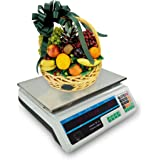NEW 60LB Commercial Retail Digital Food Scale Price Calculator Produce Deli Meat