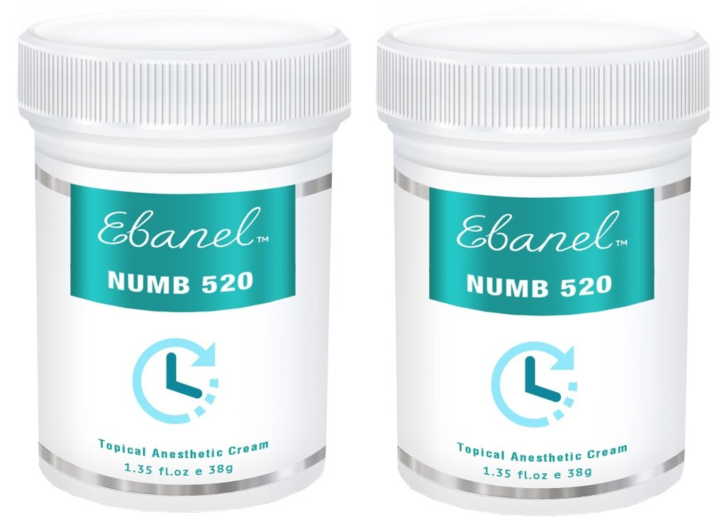 (2.70 Oz) (2-pack) Numb 520 (2.70 oz/76g) 5% Lidocaine, Liposomal Technology for Deeper Penetration, Topical Numbing Cream, Doctor Recommended, Anorectal Discomfort