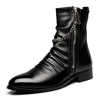 Haut-dessus des bottes de l'Angleterre Martin bottes hommes bottes hommes bottes bottes de bottes hommes, 42