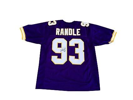 outlet store 203b3 e1031 John Randle Autographed Signed Minnesota Vikings Jersey JSA ...