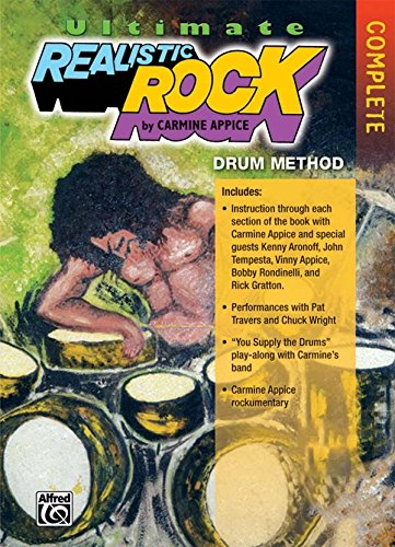 Ultimate Realistic Rock Drum Method with Carmine Appice [Instant Access]